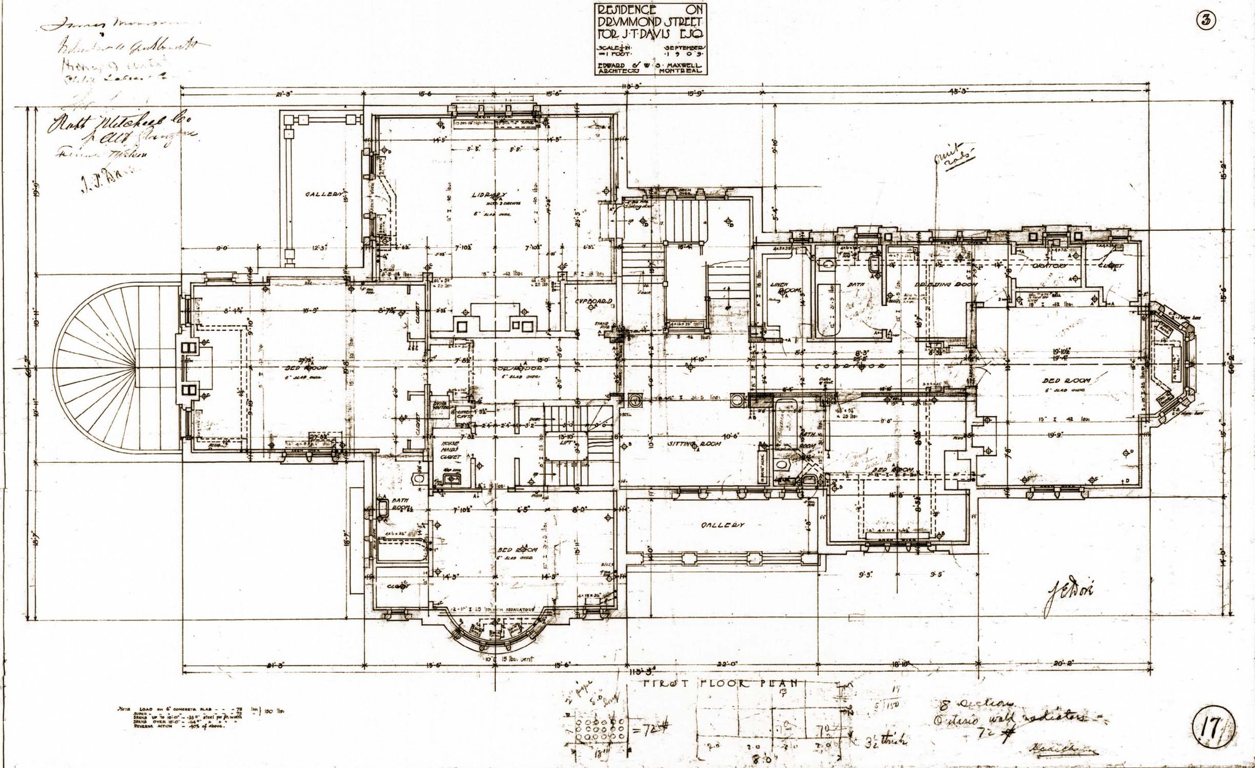 Ground floor plan first floor plan Home plan drawing